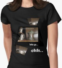 turkish cofee Women's Fitted T-Shirt