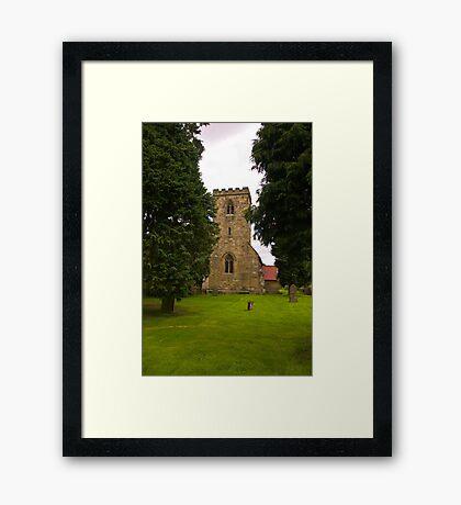 St Mary's Church - Myton on Swale Framed Print