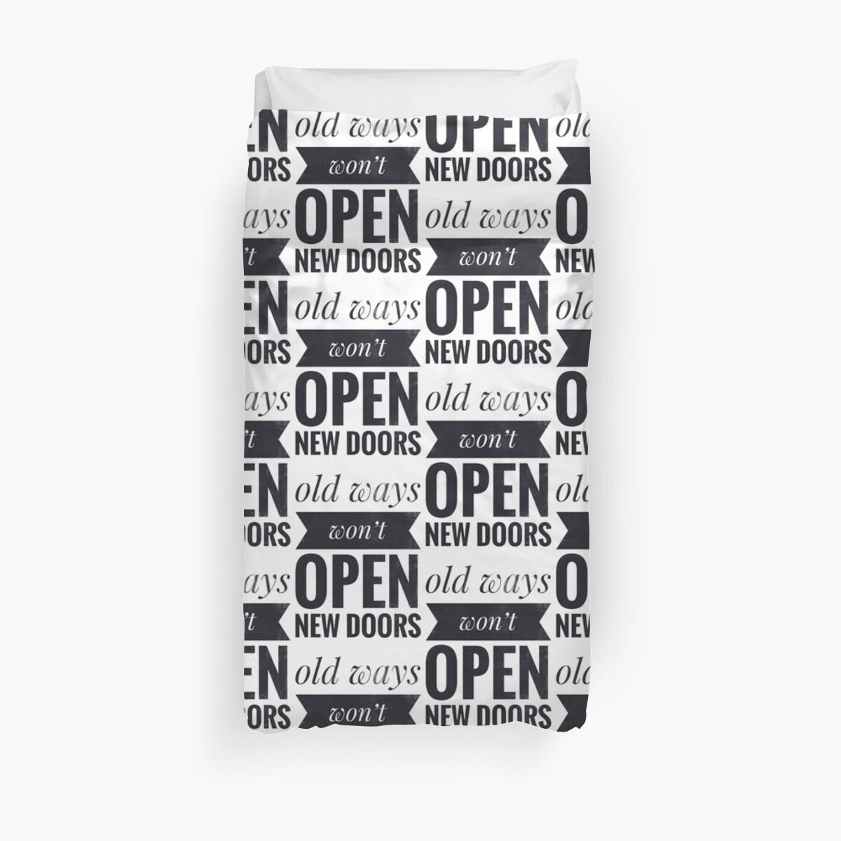 Old ways won't open new doors by C4Dart