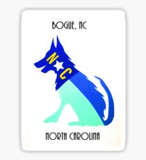 NC Dog Bogue NC Sticker