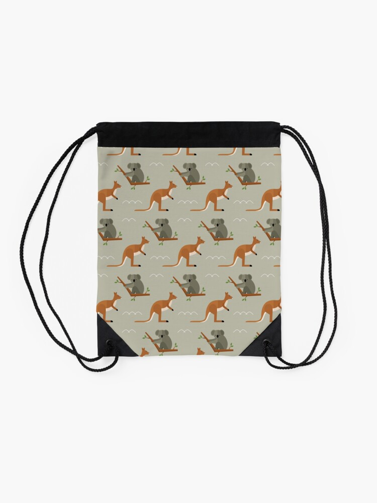 Alternate view of Outback adventures Drawstring Bag