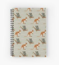 Outback adventures Spiral Notebook