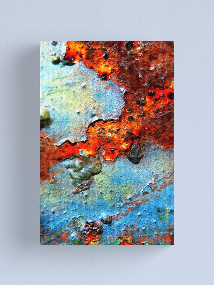 Alternate view of Rust Never Sleeps Canvas Print