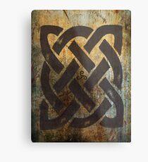 Lámina metálica El símbolo céltico de Dara