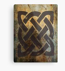 Das Dara Celtic Symbol Metallbild