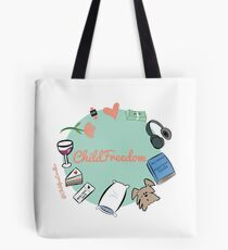 CHILDFREEDOM Tote Bag
