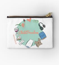 CHILDFREEDOM Zipper Pouch