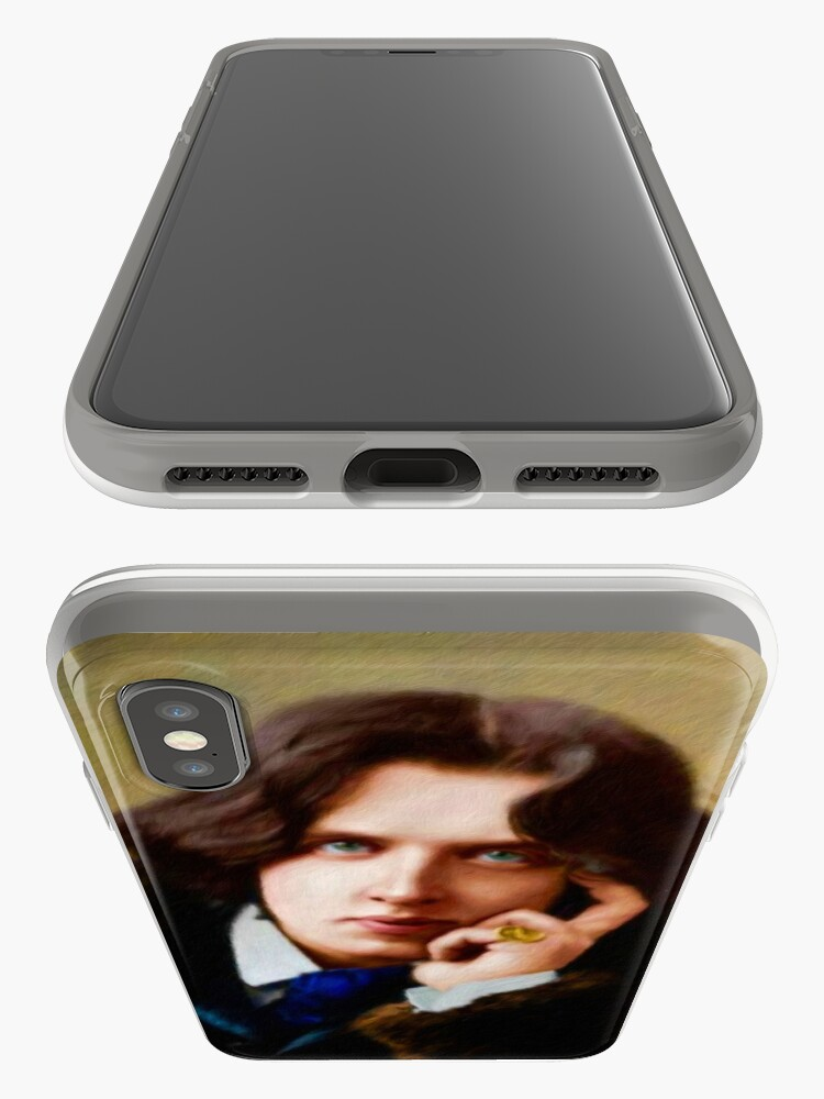 Alternate view of Oscar Wilde, Literary Legend iPhone Case & Cover