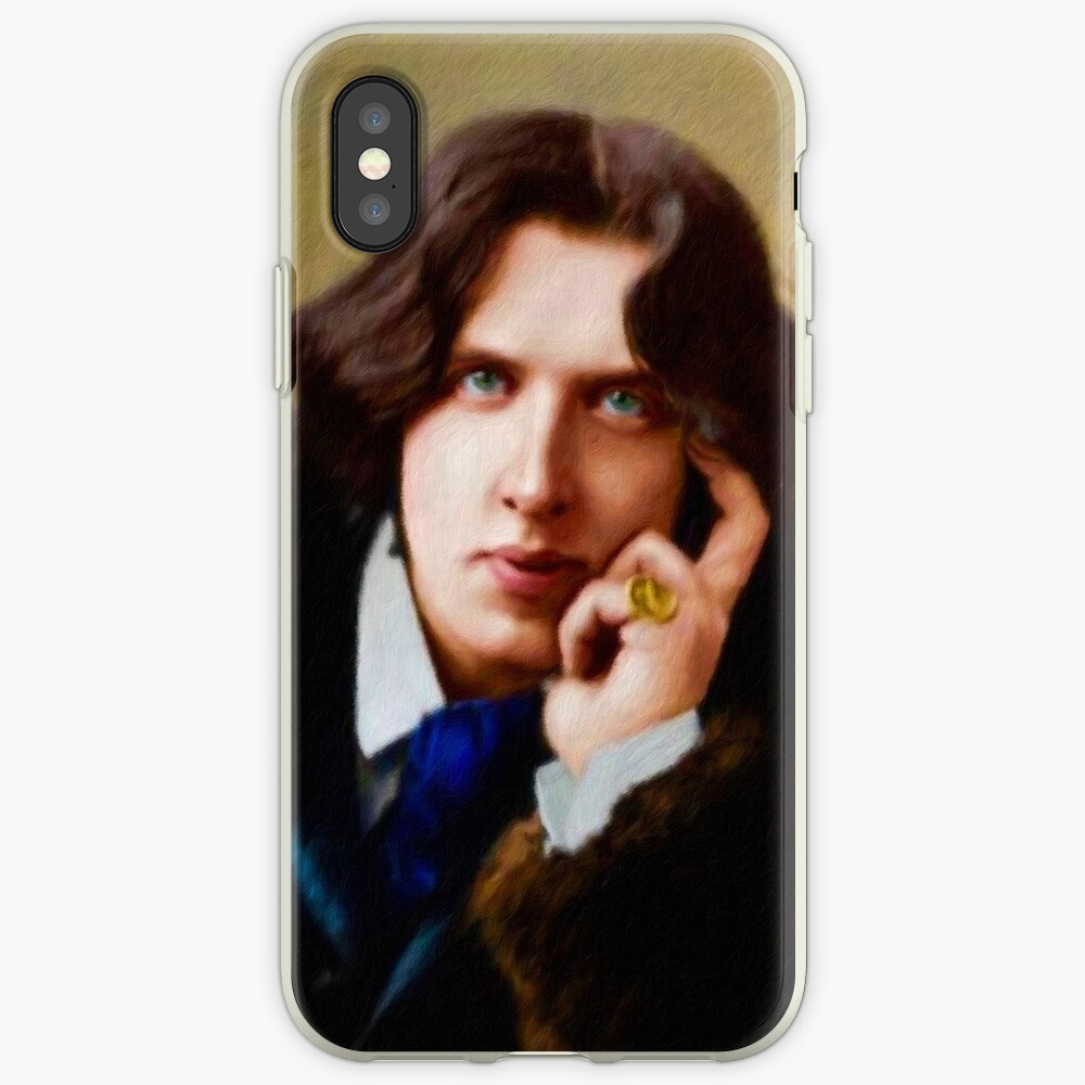 Oscar Wilde, Literary Legend iPhone Case & Cover