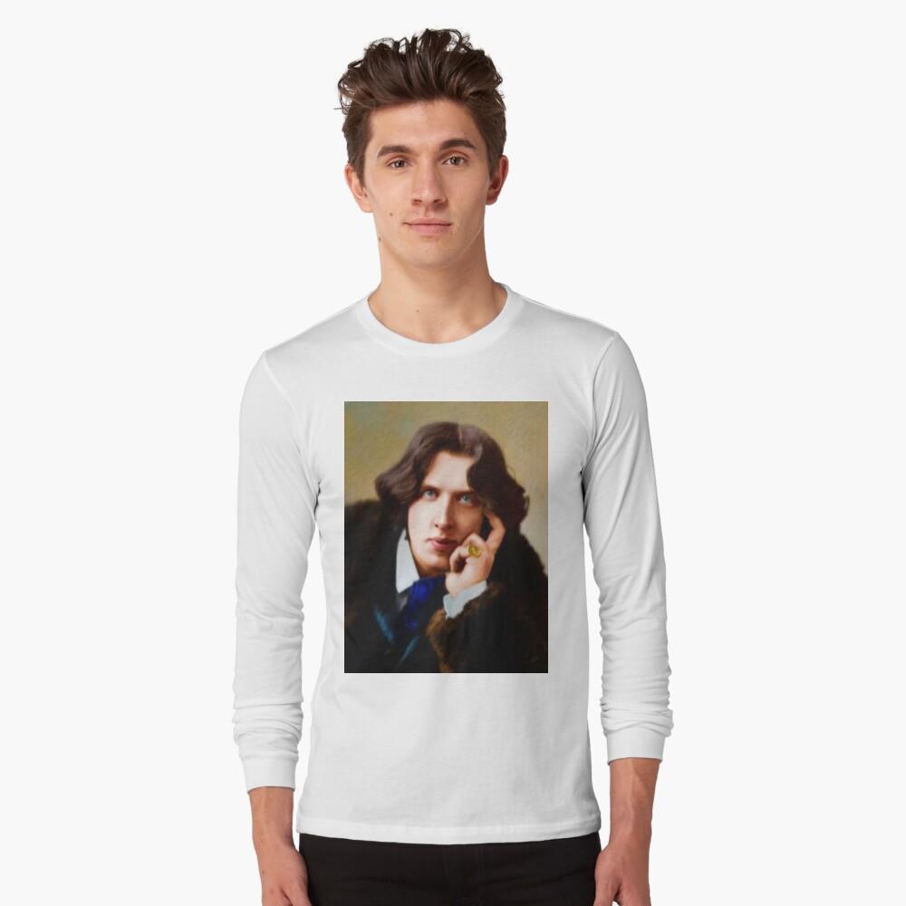 Oscar Wilde, Literary Legend Long Sleeve T-Shirt