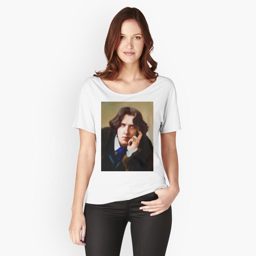 Oscar Wilde, Literary Legend Relaxed Fit T-Shirt