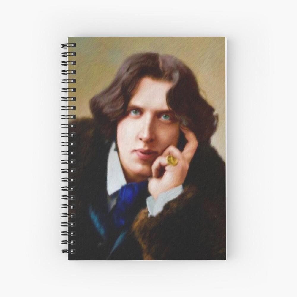 Oscar Wilde, Literary Legend Spiral Notebook