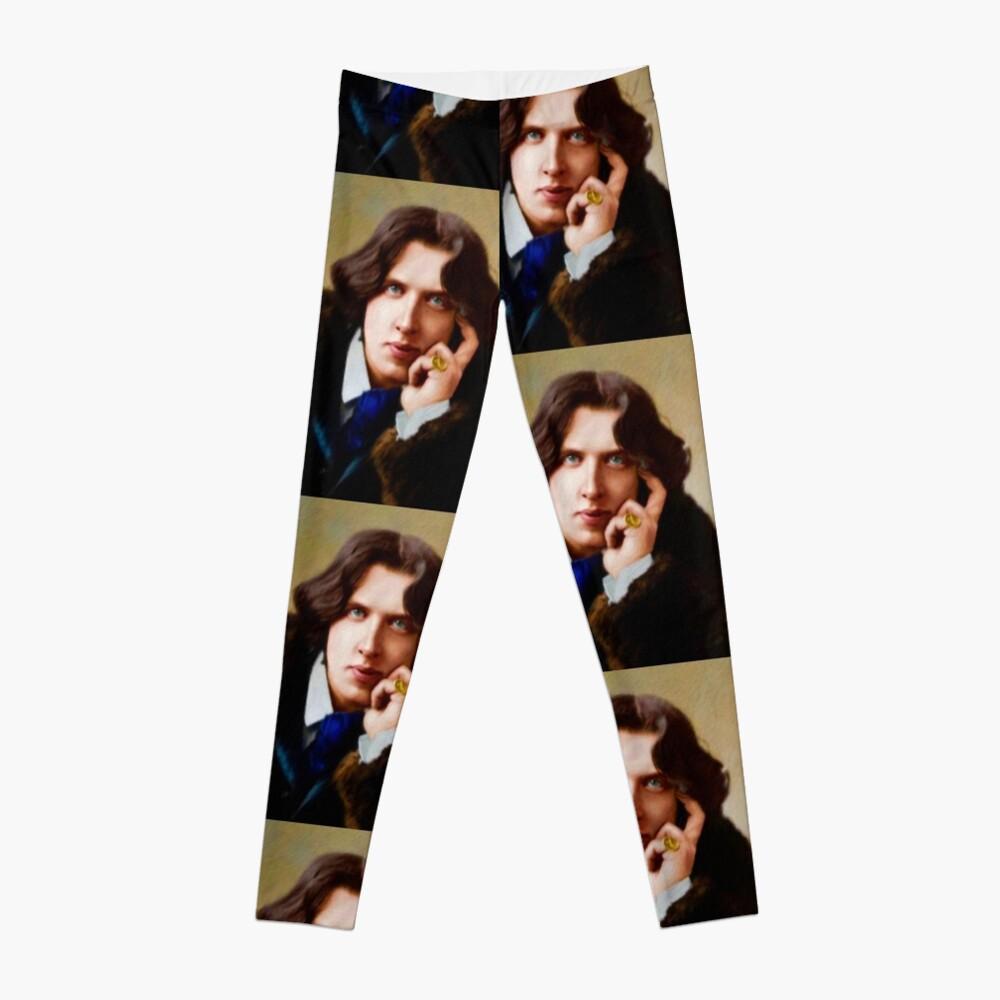 Oscar Wilde, Literary Legend Leggings