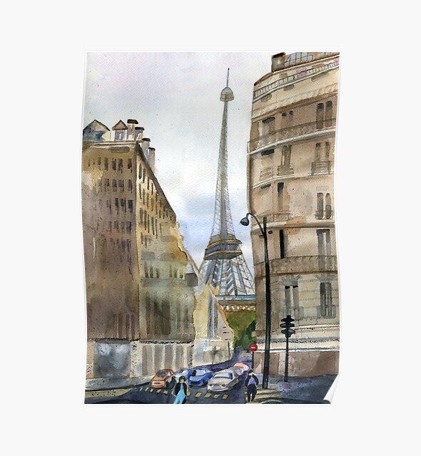 Paris by Irina Reznikova