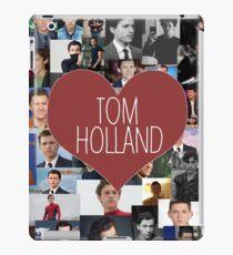 I love Tom Holland collage iPad Case/Skin