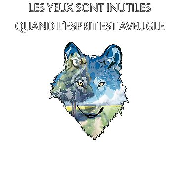 Wolf Design (Text FR) by SmilerZOfficial