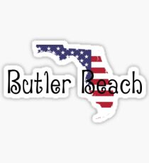 Butler Beach Florida Sticker