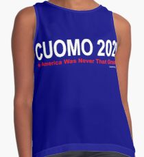 America Was Never That Great - Cuomo 2020 Contrast Tank