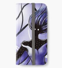 Creepy Woman In Snowy Night iPhone Wallet/Case/Skin