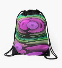 Close together, abstract fractal wallart Drawstring Bag