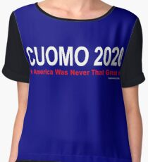 America Was Never That Great - Cuomo 2020 Chiffon Top