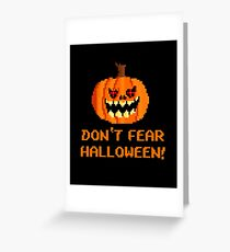 Halloween pumpkin Greeting Card