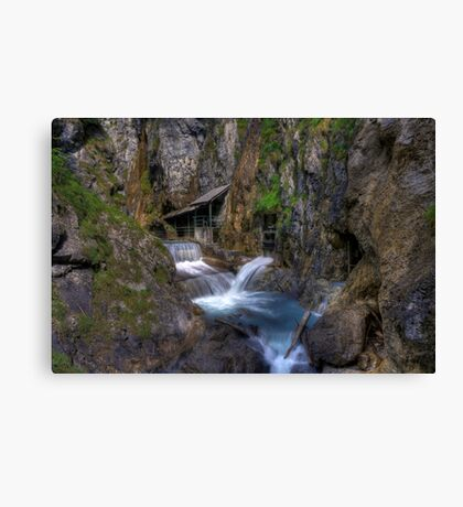 close to the water Canvas Print