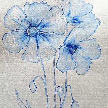 Poppies by Happyart