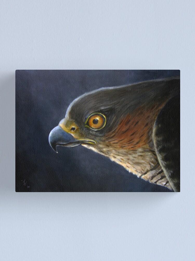 Alternate view of Hawk-Eye Canvas Print