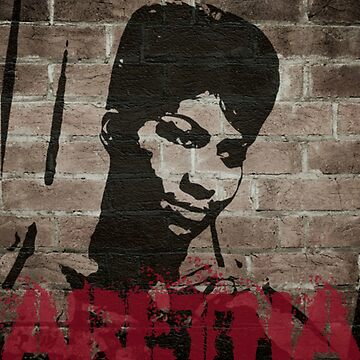 graffiti art: Aretha by halibutgoatramb