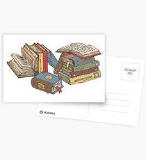 Bücher Postkarten