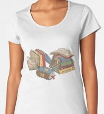 Books Women's Premium T-Shirt