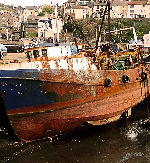 BM147 Brixham Trawler by Woodie