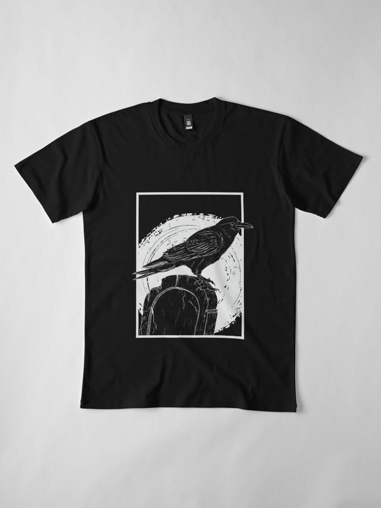 Alternate view of Crow Premium T-Shirt
