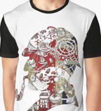 Union Jacked Sherlock  Graphic T-Shirt