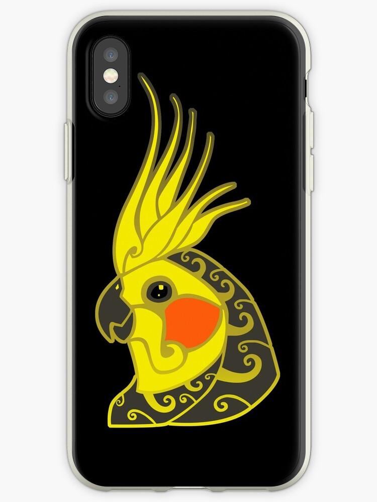 coque iphone xr perroquet