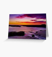 """""""Ebb Tide Dawn"""" Greeting Card"""