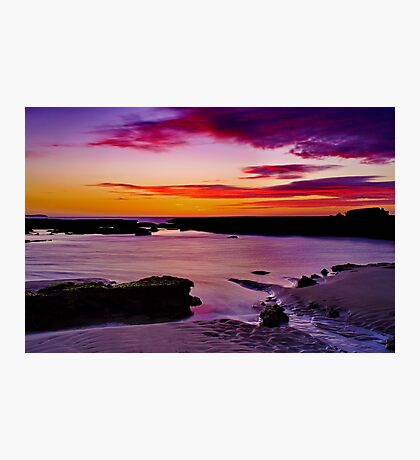 """Ebb Tide Dawn"" Photographic Print"
