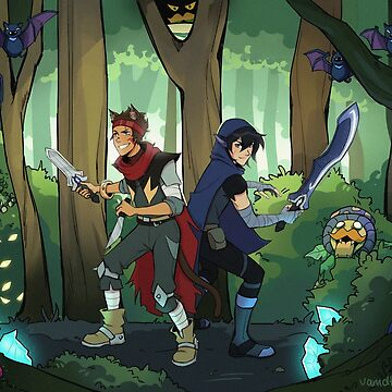 Monsters and Mana Klance by treasuredbuns