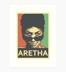 Aretha Franklin Shades Impression artistique