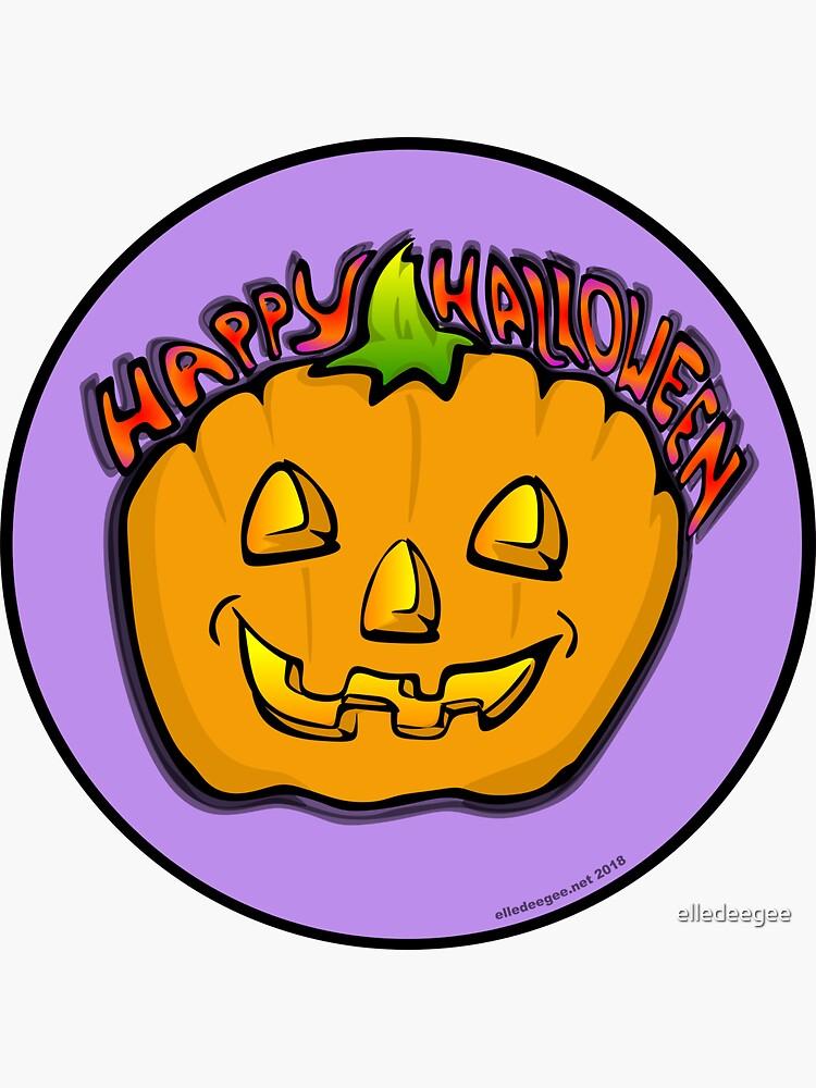 Happy Halloween by elledeegee