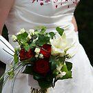 Bride's flowers by supermimai