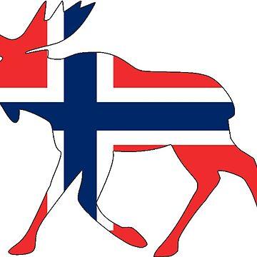 Elch Norwegen von 66latitudenorth