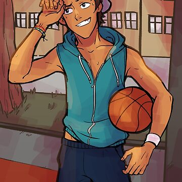 Basketball Boi by treasuredbuns