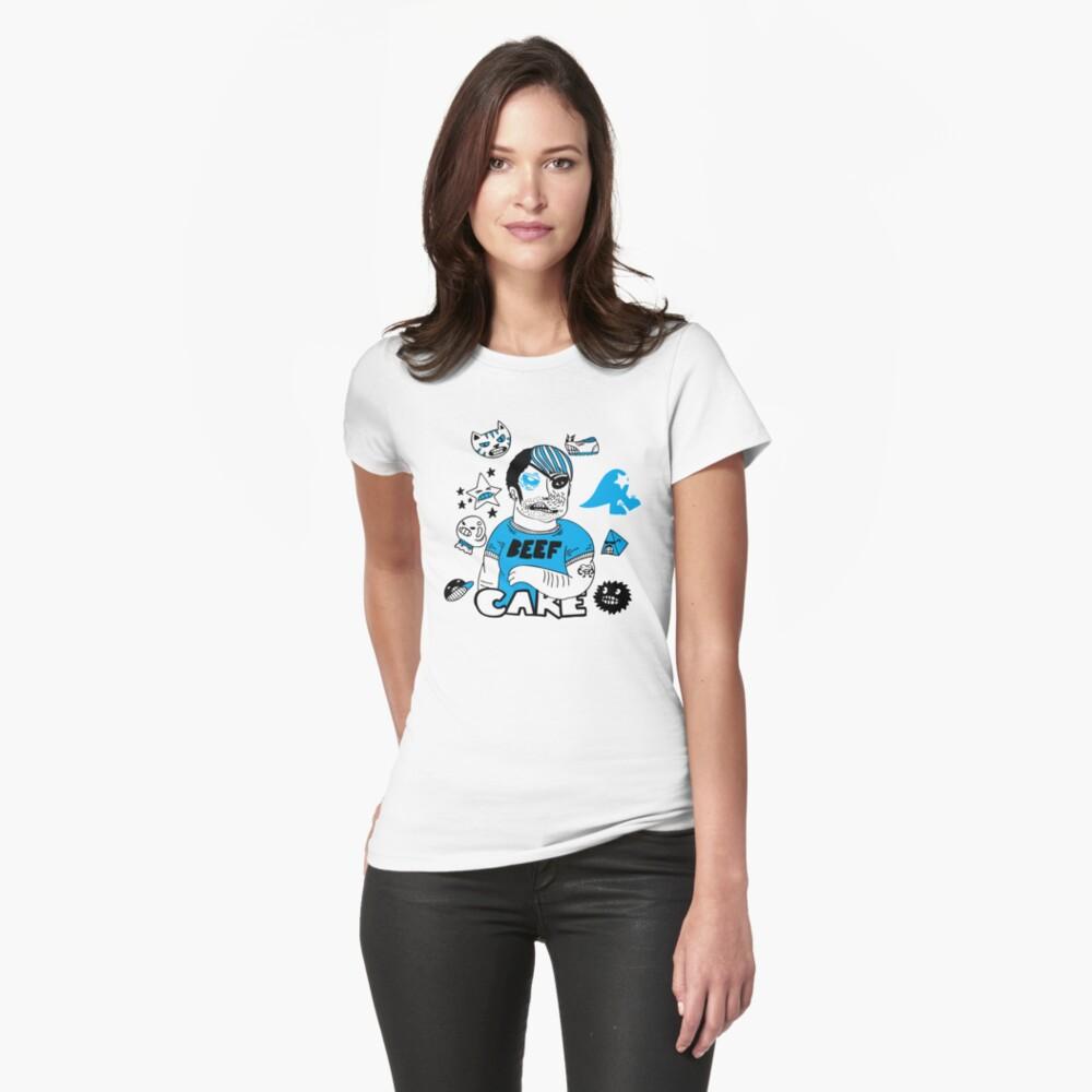 BEEFCAKE Womens T-Shirt Front