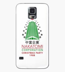 Nakatomi Corporation Christmas Party Tower flake Variant Case/Skin for Samsung Galaxy