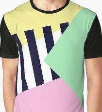 Pastelle und Übergänge Grafik T-Shirt