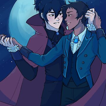Vampire Klance by treasuredbuns