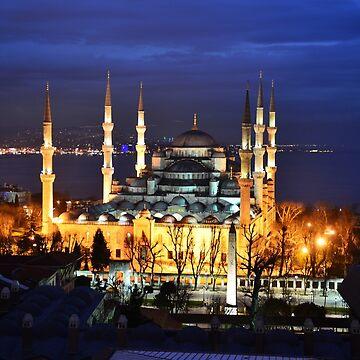 blue mosque istanbul turkey by mehmetemin