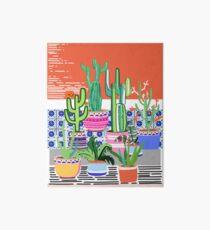 Cactus Window Art Board